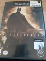 Nintendo GameCube Batman Begins (no manual) image 1