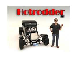 """Hotrodders\"" Bill Figure For 1:24 Scale Models by American Diorama - $15.82"