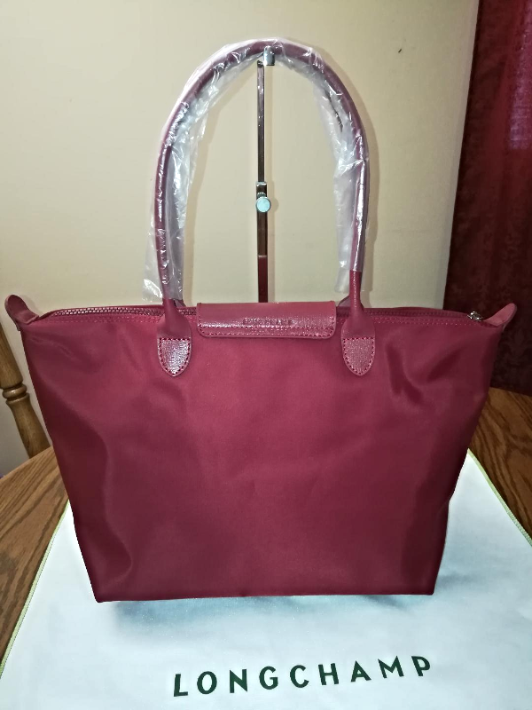 LONGCHAMP Le Pliage NEO Long Handle Large Opera Red - SOLD
