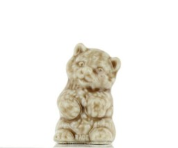 Wade Whimsies Porcelain Miniature American Series Bear Cub image 1