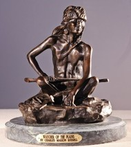 Artistic Solutions Watcher of The Plains Collectible Solid Bronze Sculpture Stat - $529.20