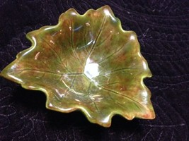Midcentury Green Leaf Bowl - $21.00