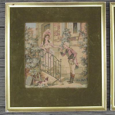 Victorian TAPESTRY ART PAUL ROUS Vergoldermeister Kaiserslautern GERMANY VTG 1