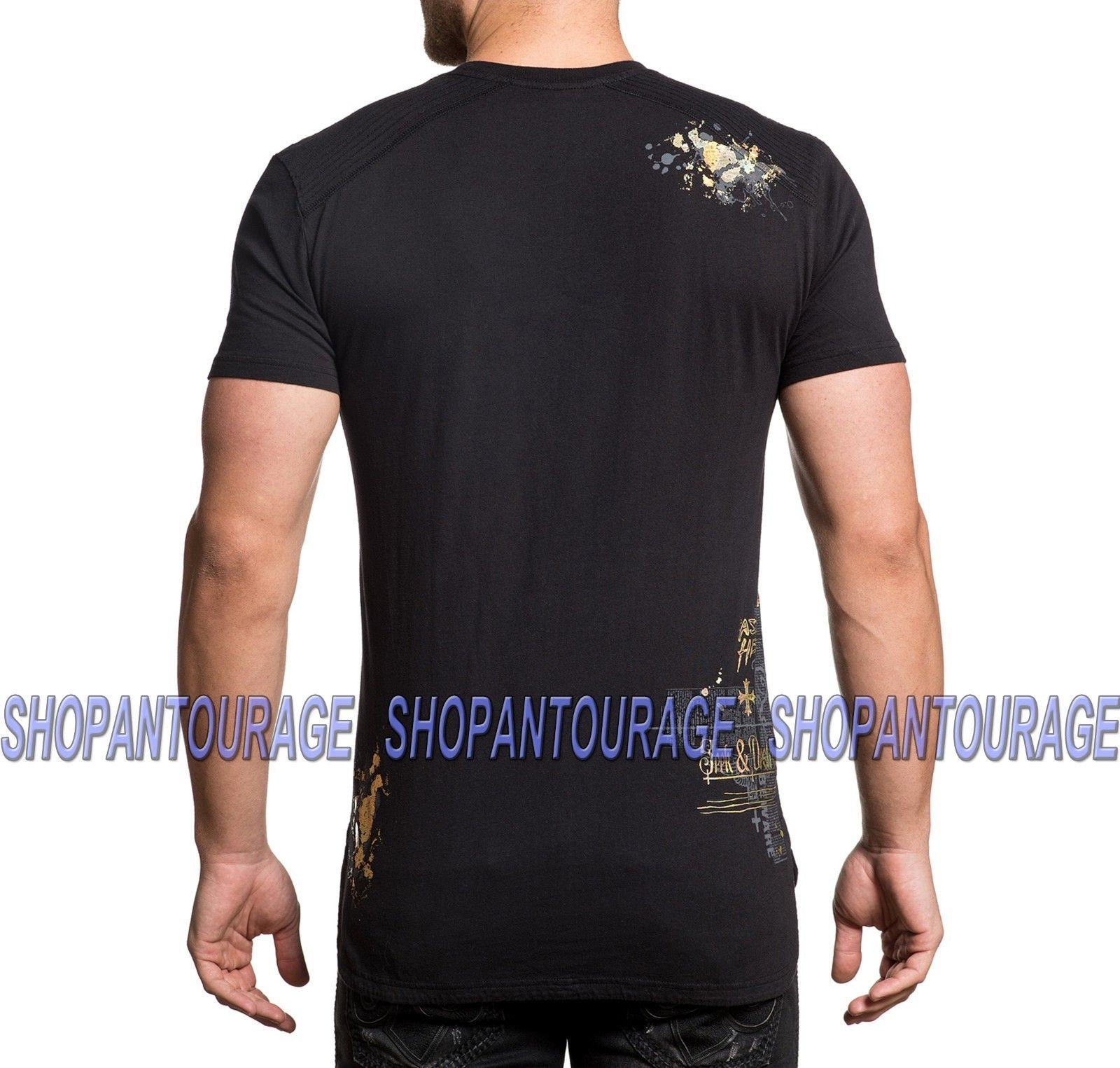 Sullen Acuna Owl SCM2277 New Graphic Tattoo Skull Fashion Artist T-shirt For Men