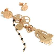 Drop Earrings 925 Silver, Mary Bag Hat Umbrella Watch, le Favole image 1