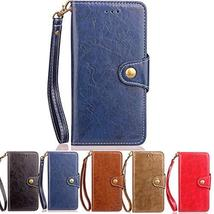 XYX Wallet Phone Case for LG K8 2017,Retro Business PU Leather Wrist Str... - $9.89