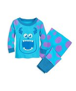 Disney Sulley Pajama Set for Baby - Monsters, Inc Size 3-6 MO Multi - $29.95
