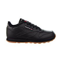 Reebok Classic Leather Big Kids' Shoes Black-Gum AR1147 - $45.00