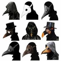 Docteur Masque Halloween Effrayant Cosplay Accessoires Gothic Bec Carnav... - $16.77+