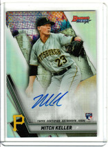 2019 Bowman's Best Mitch Keller Refractor Rookie Auto RC - $9.90