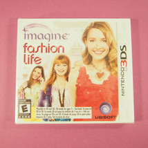 Imagine: Fashion Life (Nintendo 3DS, 2012) ~ New, Sealed - $8.33