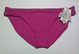 Becca by Rebecca Virtue Woman's Purple American Fit Bikini Bottoms - Size: XL - $19.37
