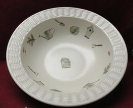 "Pfaltzgraff China - Naturewood Pattern - 12"" Basketweave Serving Bowl - $28.95"