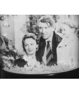 It's A Wonderful Life Snow Globe AULD LANG SYNE CHRISTMAS TREE BELL Snow... - $19.99