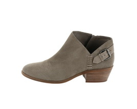 Vince Camuto Suede Booties Buckle Parveen Foxy 9.5W NEW A311049 - £66.50 GBP