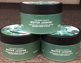 The Body Shop Winter Jasmine Exfoliating Sugar Body Scrub 2.11 oz. - $24.45