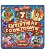 Disney 7 Day Countdown to Christmas Tin Advent Calendar Customizable Sto... - $14.55