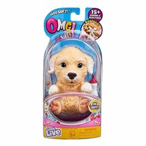 Little Live OMG Pets Soft and Squishy Golden Retriever Puppy Dog Real So... - $16.84