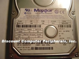 6.5GB 3.5in IDE Drive Maxtor 90650U2 Tested Good Free USA Ship Our Drives Work