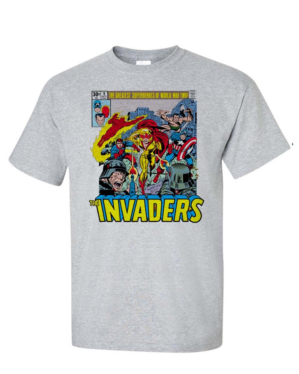 bucky world war 2 graphic tee retro golden age old school comic book tees for sale online store
