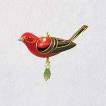 "Mini Red Tanager Bird 2018 Hallmark Ornament, 1.13"" - $15.83"
