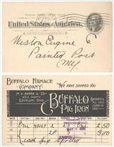 1898 UX12 Jefferson Postcard Buffalo Furnace Company Buffalo Pig Iron -C... - $5.93