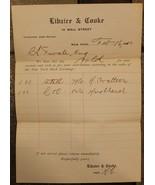 1910 Stock Sale Receipt, New York STOCK Exchange 100 Shares of Steel Sol... - $22.13