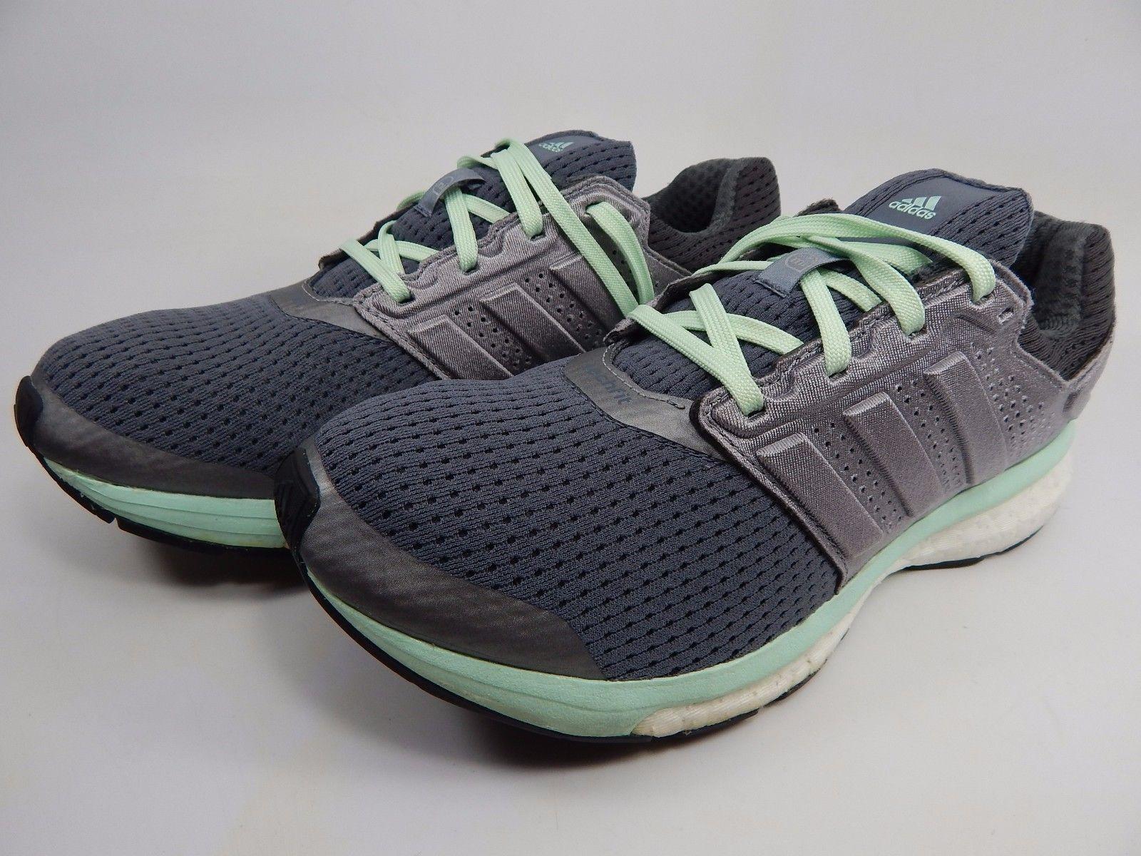 Adidas Glide Boost 7 Women's Running Shoes Size US 7 M (B) EU 38 2/3 Gray B33603