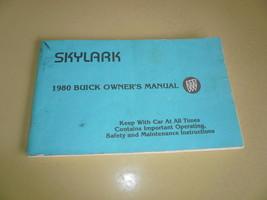 1980 Buick Owner's Manual Skylark - Glove Box - $8.79
