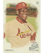 2019 Topps Allen and Ginter #281 Bob Gibson  - $0.50