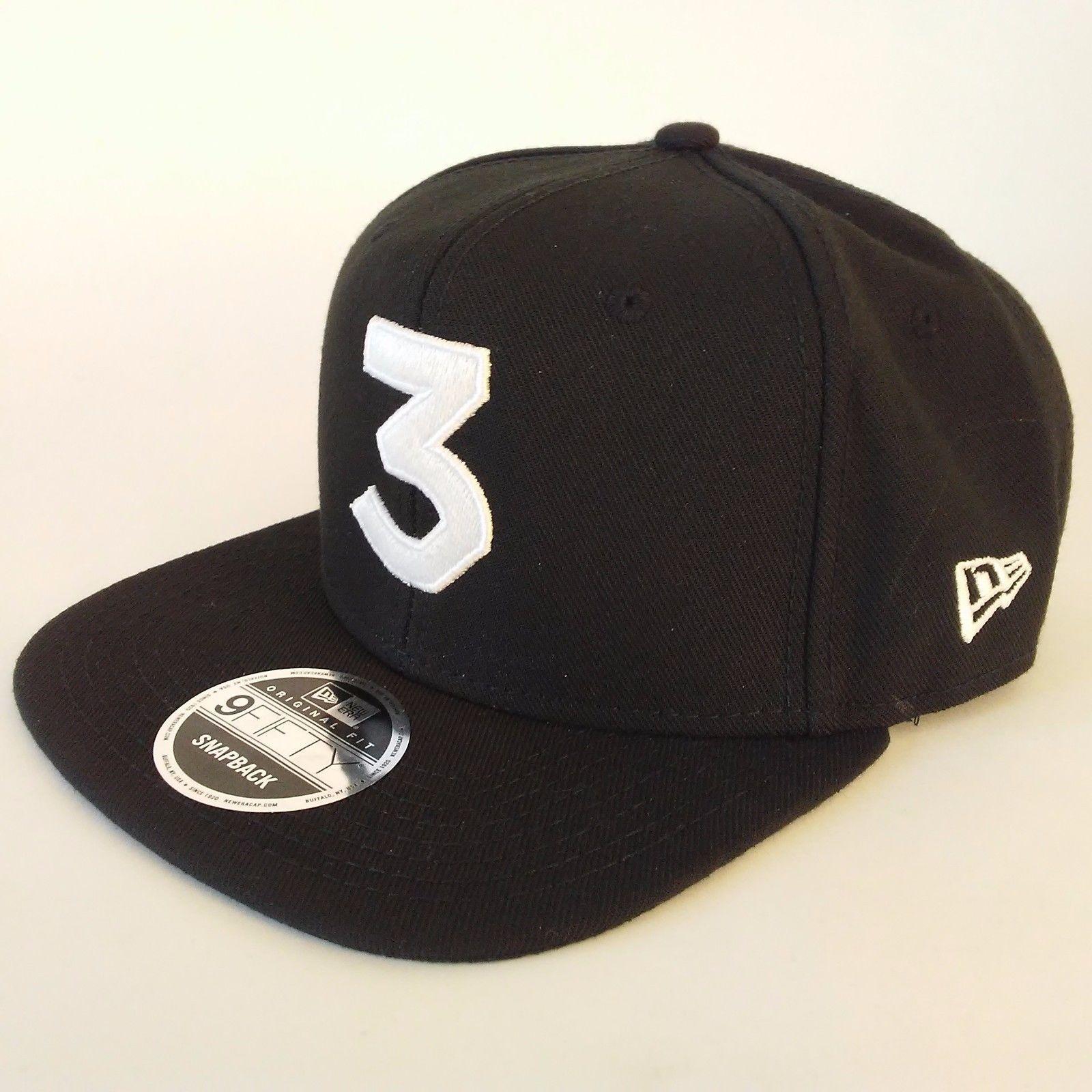 3 Chance The Rapper Black Genuine New Era and 50 similar items. S l1600 7 e0a05bcf120