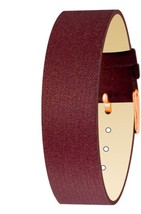 Moog Paris Brown Fabric Bracelet for Women, Satin Pattern, Pin Clasp, 18... - $46.65