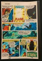 Iron Man #114 1978 Marvel original color guide art Avengers Arsenal Vision Pym! - $69.76