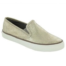New Sperry Top-Sider Women Seaside Brush Oxford Sneaker Off Bronze Size 7.5 - $104.48 CAD