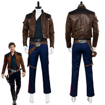 Solo A Star Wars Story Han Solo Cosplay Costume Suit Uniform - $99.00+