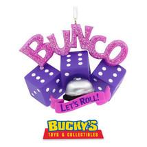Bunco 2017 Hallmark Christmas Gift Ornament  Dice Queen  Bell  Girl's Ni... - $49.49