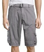 i jeans by Buffalo Twill Cargo Shorts 28, 29, 33, 36, 38 Msrp $50 Titanium - $21.99