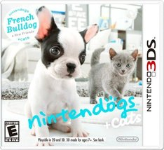 Nintendogs + Cats:  French Bulldog and New Friends [video game] - $12.50