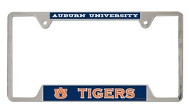 Auburn Tigers Heavy Duty Chrome Metal License Plate Frame - $13.95