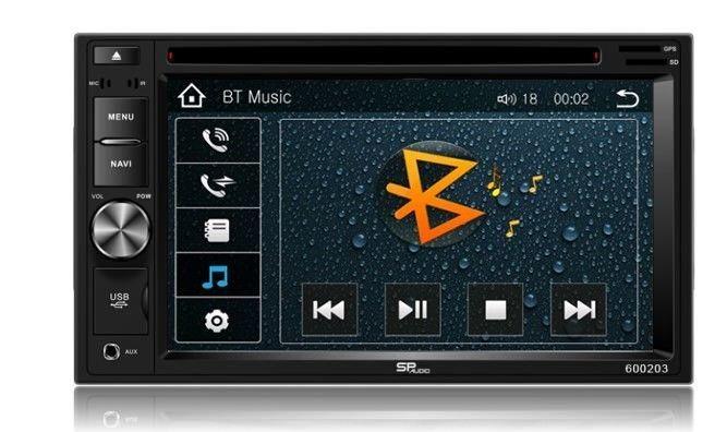 DVD GPS Navigation Multimedia Radio and Dash Kit for Honda Ridgeline 2008