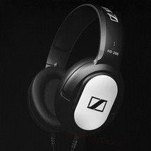 New Sennheiser HD 206 Wired Over Ear Headphones Closed-Back Bass Silver ... - $43.99