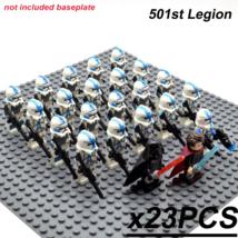 23pcs 501st Legion Clone Trooper Ans Anakin Skywalker Darth Vader Figures Blocks - $34.95