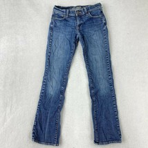 Old Navy Jeans Juniors Size 1 Blue Bootcut Stretch Low Rise Jeans - $18.95