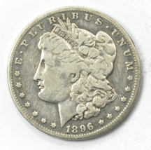 1896 S $1 Morgan Silver One Dollar US San Francisco Rare  - $98.99