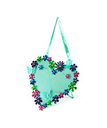 Flower and Butterfly Heart Shaped Jewelry Holder Organizer Earrings - NWT - $8.05