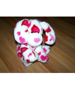 Build a Bear Workshope BABW Red & Pink Heart Valentine's Day Plush Puppy... - $28.00
