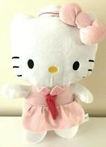 "Large 11"" Sanrio Super Cute Hello Kitty Flight Attendant Plush Toy Doll NEW.  - $18.61"