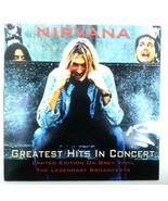 Nirvana – Greatest Hits Live in Concert AAVNY005 Vinyl LP 12'' Record - $73.80