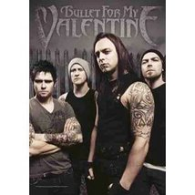 "LPG International Bullet for My Valentine ""Band Photo"" Fabric Poster Pri... - $15.00"