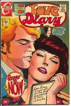 Love Diary #77 1972-Charlton-Susan Dey poster-spicy romance stories-FN - $45.40